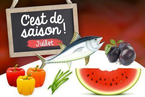 Quels aliments consommer en juillet ?