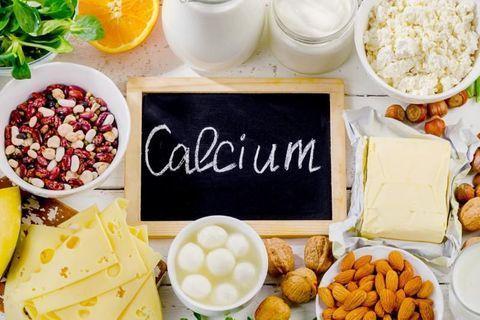 Les aliments les plus riches en calcium