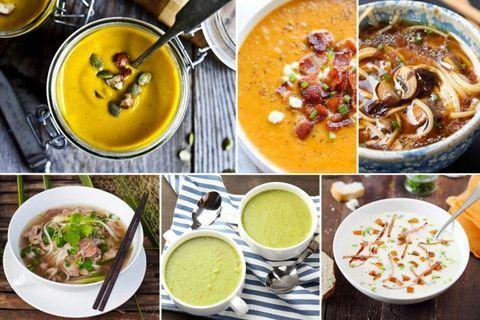 Soupe : 20 idées de recettes gourmandes