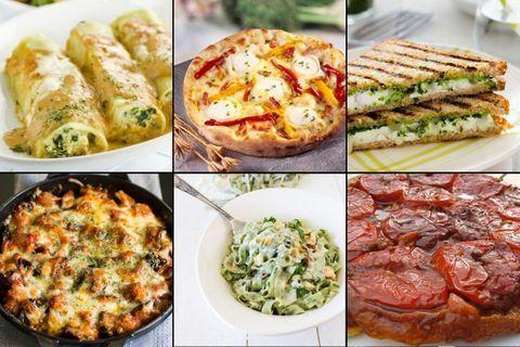 Sélection de recettes végétariennes complètes