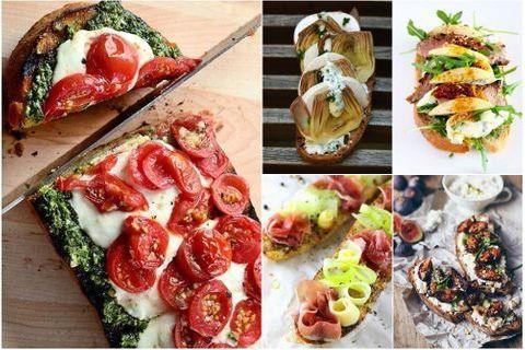 30 recettes de tartines salées