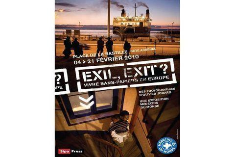 Exposition Exil, Exit ? à partir du 4 février place de la Bastille
