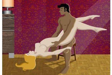Kamasutra hors du lit : les positions pour sortir de la routine !