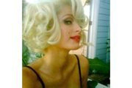 Paris Hilton Paris En S'imagine Hilton S'imagine Marilyn En KTF1cJl