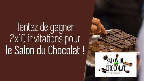 Concours Salon du chocolat