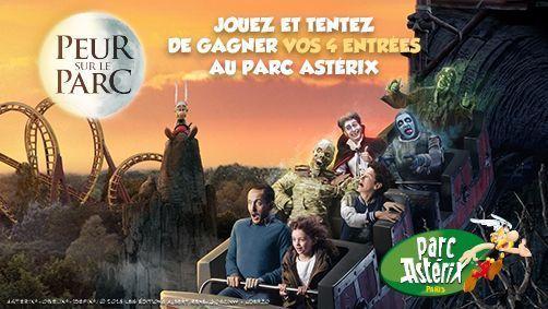 Jeu concours Astérix octobre 2018