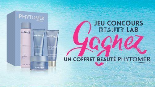 Jeu concours Beauty Lab x Phytomer