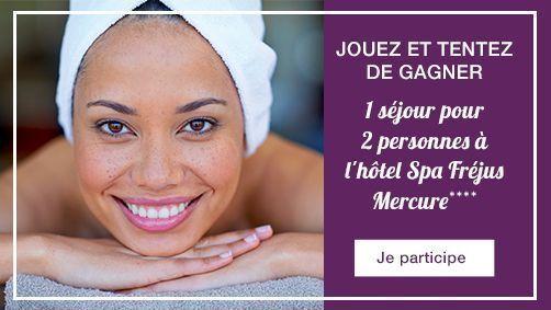 Jeu concours Thalasso Mercure Fréjus - Septembre