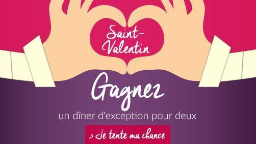 Saint-Valentin, un dîner d'exception