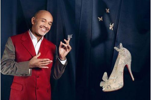 Christian Louboutin et Disney présentent la version moderne du soulier de Cendrillon