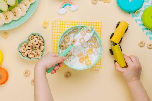 Rappel de sets repas en bambou pour enfant
