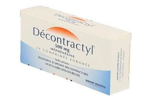 Le Decontractyl retiré du marché le 28 juin