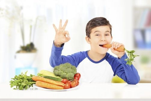 enfants, légumes