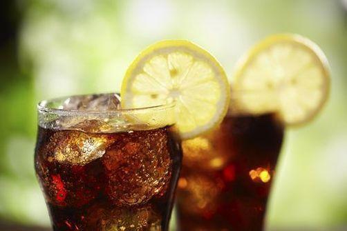 colas, sodas