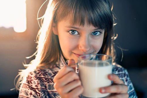 lait enrichi en vitamine A