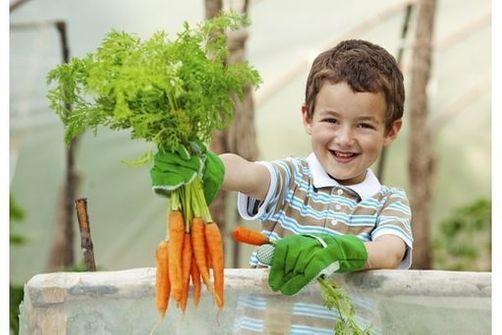 Enfant jardin