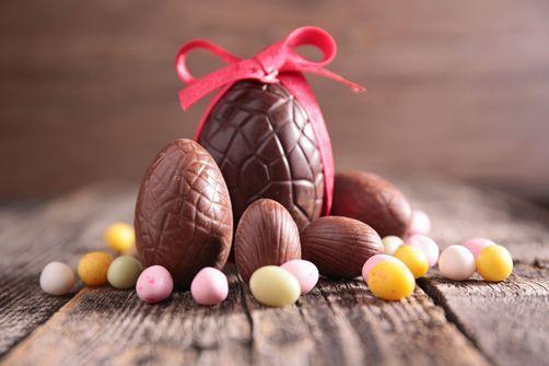chocolat à Pâques