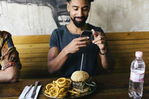 nourriture téléphone