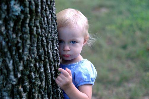 petite fille arbre