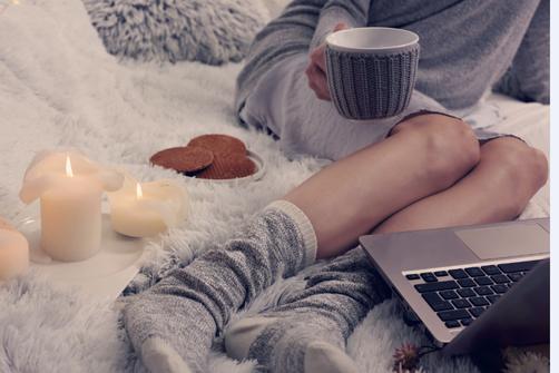 L'Art de rester bien au chaud à la maison.