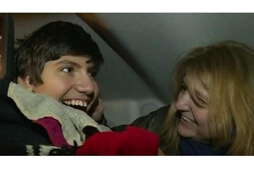 Philippe Giardina et sa mère