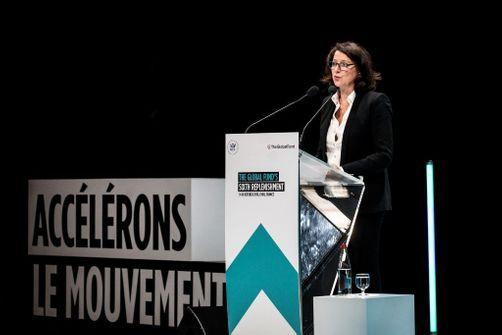 """Florence Thune (Sidaction) : """"Emmanuel Macron a dit qu'il n'y aurait pas d'excuse financière pour atteindre les 14 milliards de dollars"""""""