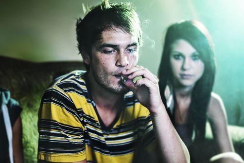 cannabis fumée