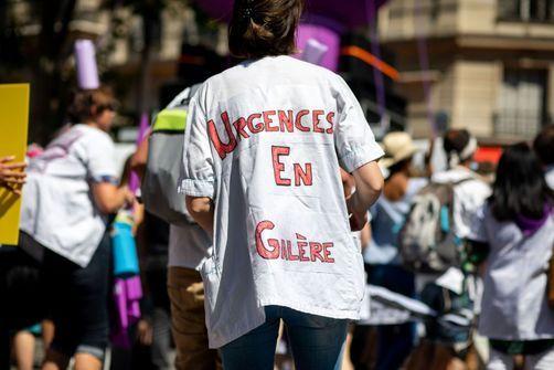 Grève des urgences : près d'un tiers des services touchés
