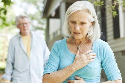 infarctus femme