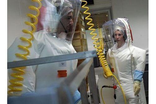 laboratoire P4 lyon