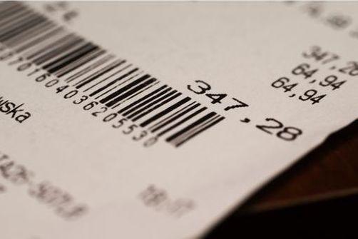 Du BPA dans les tickets de caisse