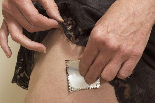 patchs d'oestrogènes