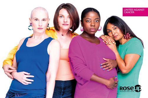 Octobre rose : dix femmes atteintes de cancer posent pour des spots publicitaires célèbres revisités
