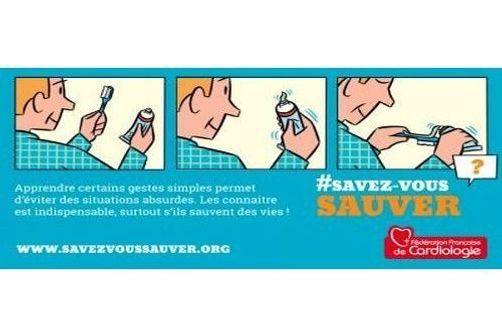campagne SavezVousSauver, gestes qui sauvent