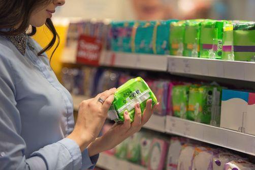 Substances chimiques dans les protections intimes