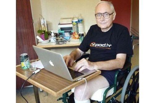 Jean-Michel Billaut en 2009, à l'hôpital de la Musse (Eure)