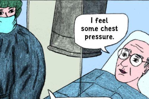 Une bande dessinée pour préparer les patients à une intervention médicale