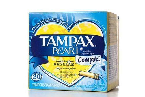 Pétition, composition des tampons Tampax