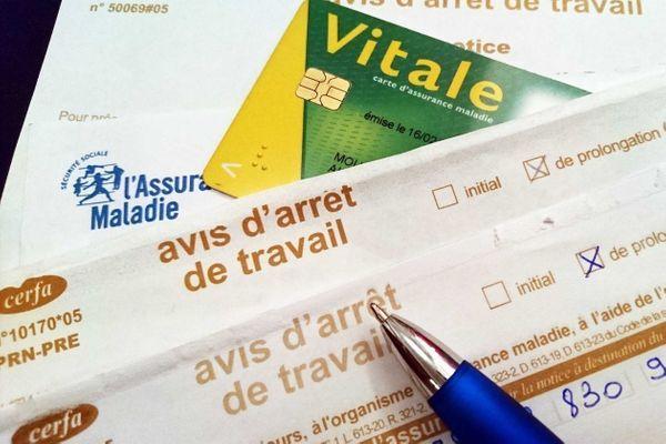 dffbb43493e L arrêt de travail pour maladie et les indemnités journalières ...
