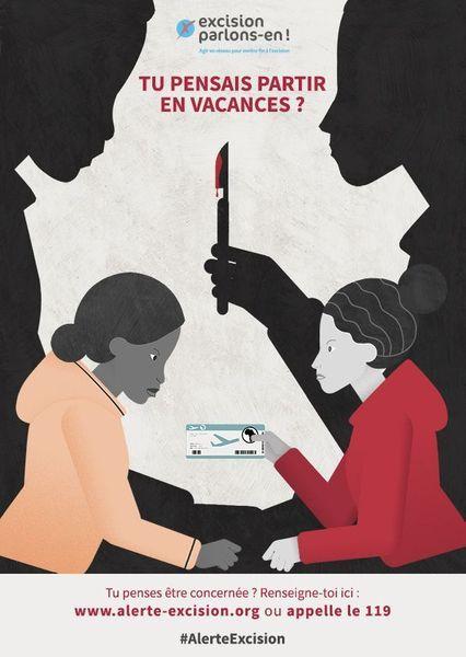 Visuel campagne contre l'excision 2