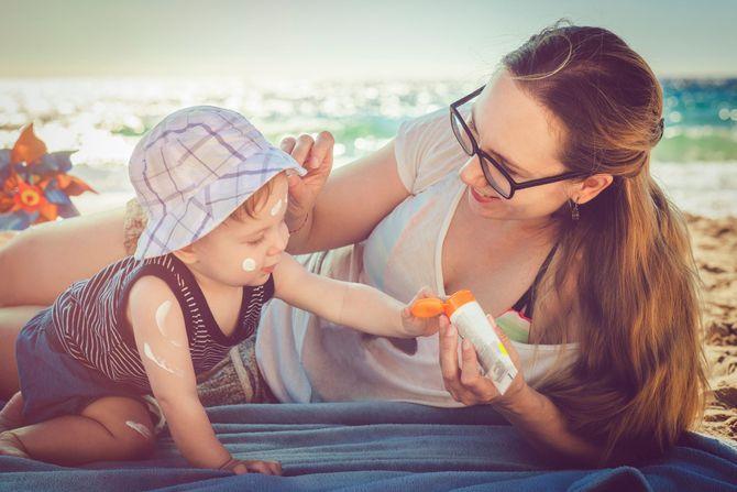 Quelle crème solaire pour Bébé ?