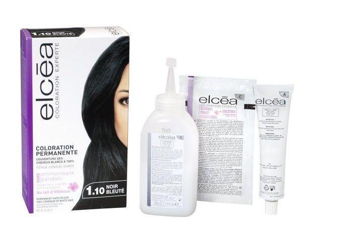 Coloration Experte Noir Bleute Elcea Avis Et Test Sur Beauty Lab