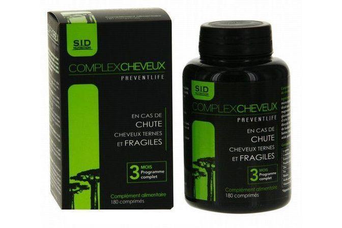 Preventlife Complexcheveux 180 comprimés SID Nutrition ...