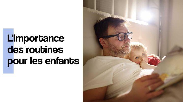 routine pour les enfants