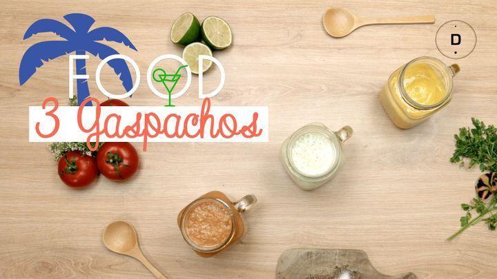 3 recettes de gaspachos