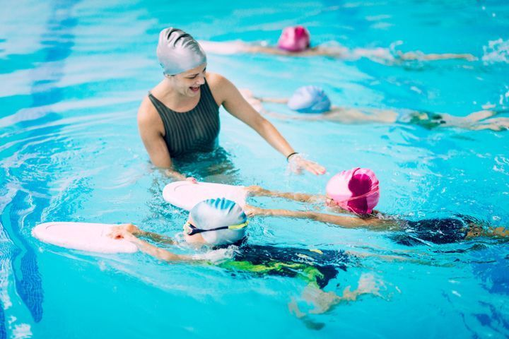 apprendre à mon enfant à nager