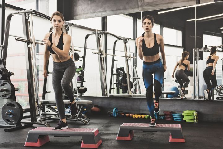 Exercices de step