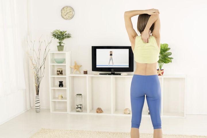 Exercices fitness chez soi
