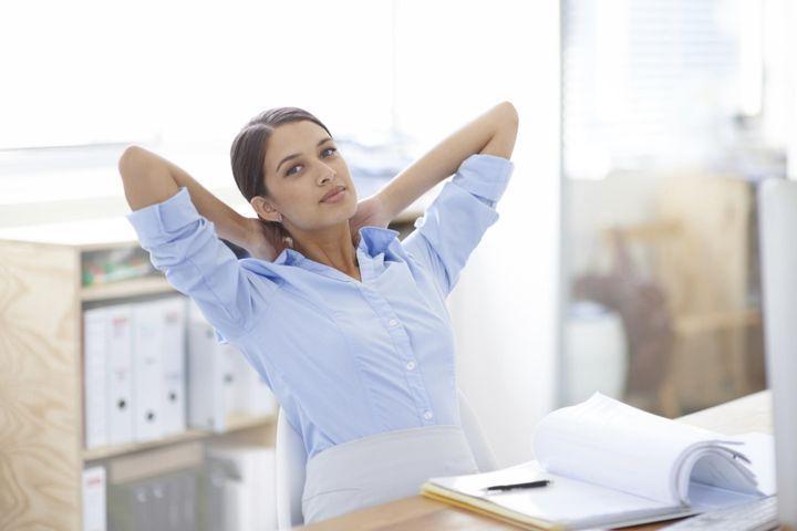 Stretching au bureau