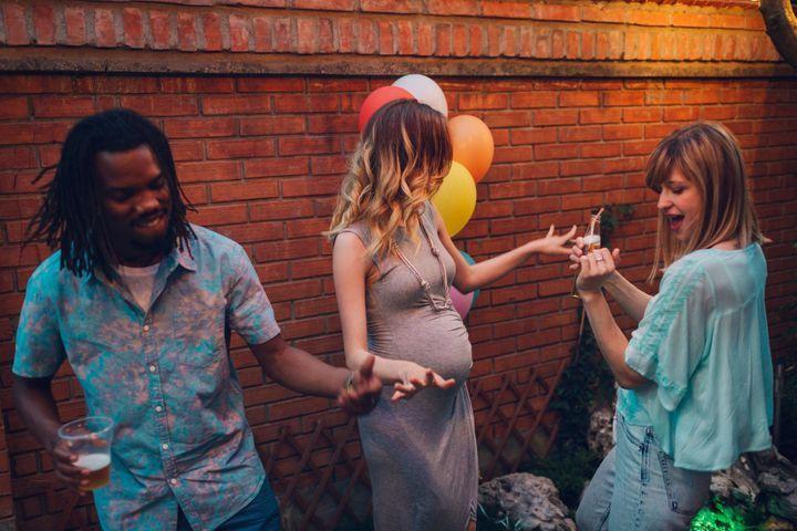 grossesse et fêtes